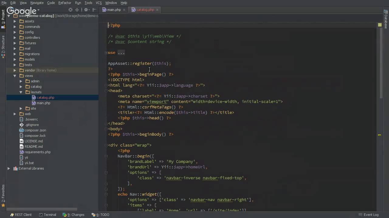 Кеширование фрагментов и страниц в Yii2