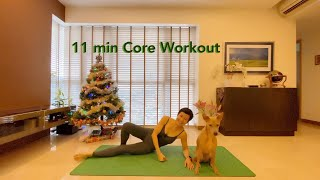 Short and Sweet Series | 11 min Pilates Core workout with Grace