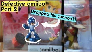 MORE defective amiibo. (Amiibo defects: pt. 2)