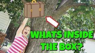 Scavenger Hunt for HUGE Surprise Box with Surprise TOYS: WHAT'S IN THE BOX?