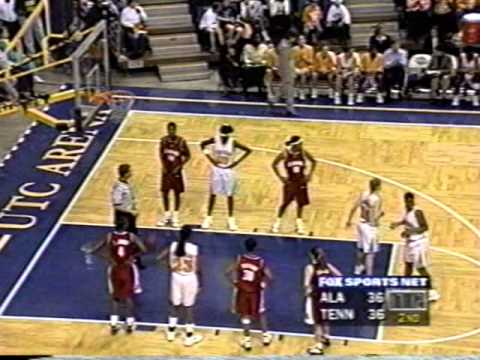 1999 Tennessee vs  Alabama SEC Tournament