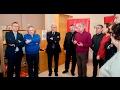 José Ignacio Ceniceros inaugura el centro de reparto de alimentos de Cáritas