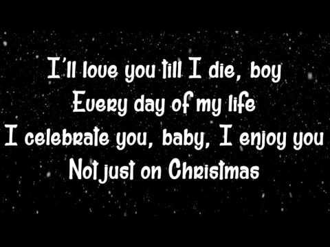 Ariana Grande - Not Just On Christmas (Christmas & Chill) (Lyrics)