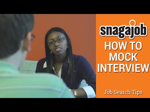 Job Search Tips (Part 6): How to mock interview