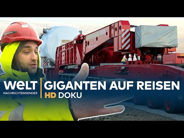 Auftrag Schwertransport - Giganten auf Reisen   HD Doku