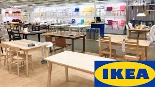 Ikea Kitchen Dining Room Furniture Armchairs Chairs Tables Shop With Me Shopping Store Walk Through