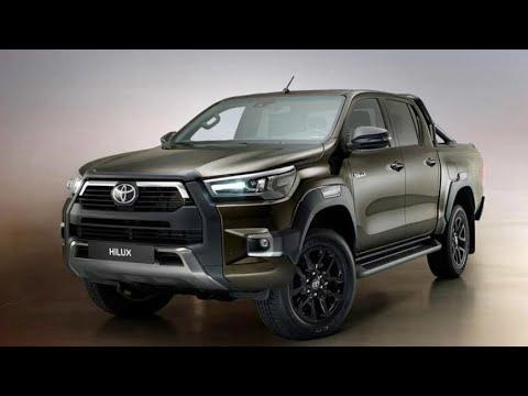 Новый пикап Toyota Hilux с новым мотором
