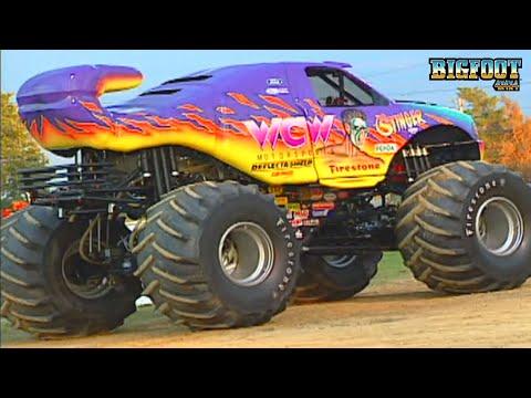 bigfoot-&-wcw-stinger-racing-canfield,-oh-1996---bigfoot-monster-truck
