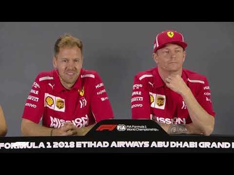 KImi Raikkonen calls Ocon and Verstappen BOYS 😂