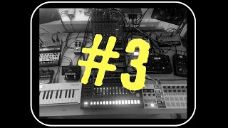 °MY OWN TRACK 3° TECHNO with a 909 and Korg Volca FM