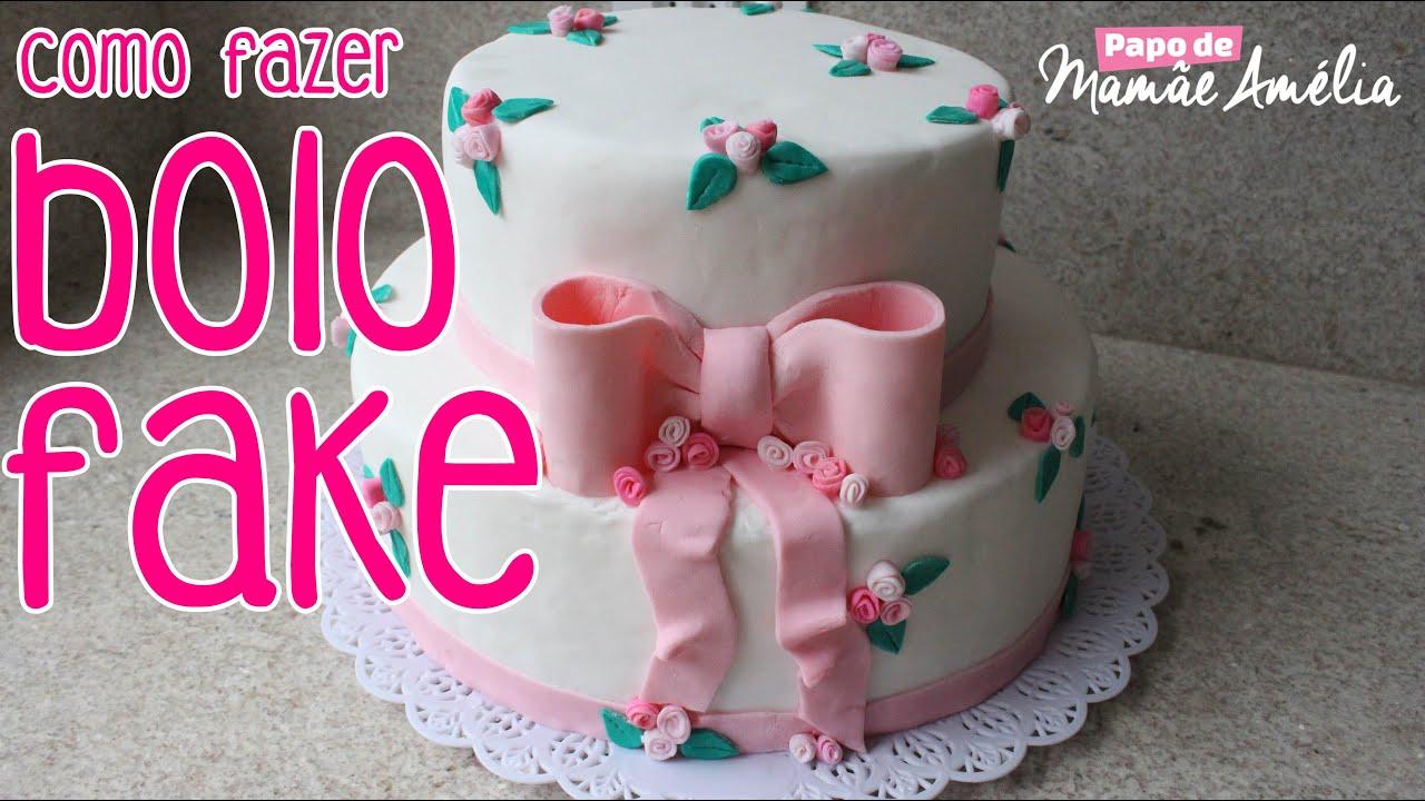Super COMO FAZER BOLO CENOGRÁFICO (BOLO FAKE) - YouTube OK41