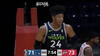Justin Patton All Star Break Highlights