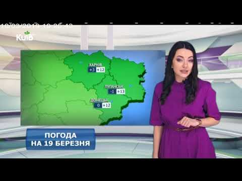 Телеканал Київ: Погода на 19.03.19