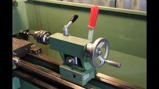 Modifica contropunta tornio con serraggio rapido