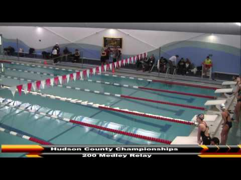 MHS Swimming Hudson County Championships (DAY 4) 2-27-17