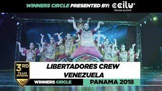 LIBERTADORES CREW VENEZUELA| 3rd Place Team | Winners Circle | WOD PANAMA 2018 | #WODPANAMA2018