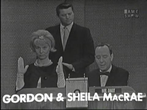 What's My Line? - William Schuman; Gordon & Sheila MacRae; Martin Gabel [panel] (Sep 30, 1962)