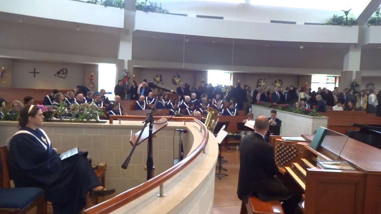End Of Easter Mass Our Lady Of Good Counsel Catholic