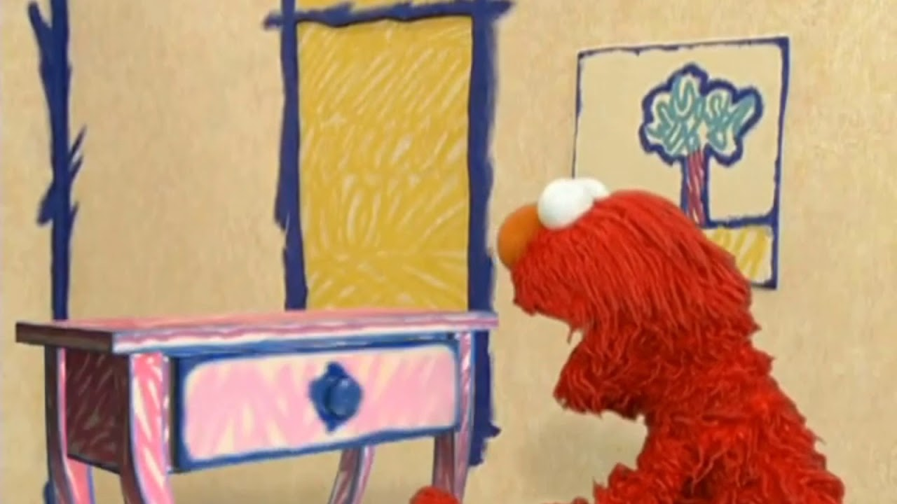 Elmo S Would Drawer Building Things Youtube