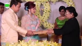 ENGAGEMENT RECEPTION of WYNE SU KHINE THEIN & OKKAR MYINT KYU