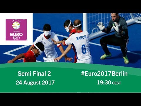 Semi Final 2 Russia vs France | IBSA Blind Football European Championships