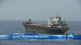 Coast Guard commander on Caribbean cocaine bust