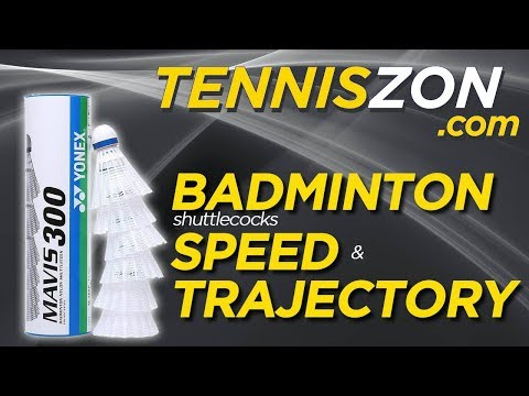 Badminton Shuttlecocks Speed and Trajectory Simplified