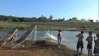 Bike Ramp Lake Jump (HD)