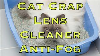 Cat Crap Lens Cleaner Anti-Fog