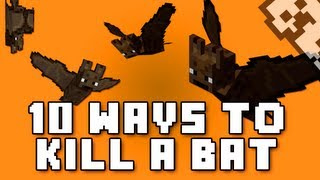 10 Ways to Kill a Bat in Minecraft