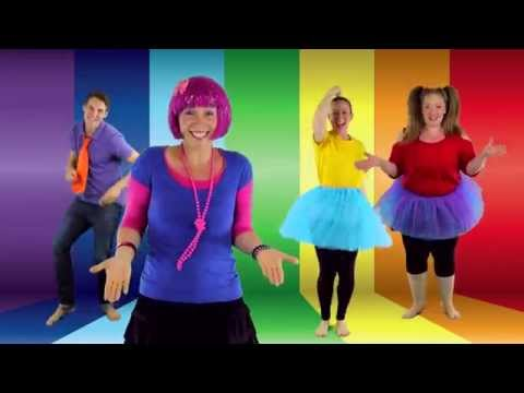 Debbie Doo Dance Song  for Kids - Balance On One Foot -  Featuring Bounce Patrol.