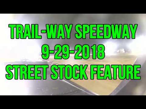 9 29 2018 Trail Way Speedway feature