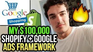 My $100,000 Shopify Google Ads Framework [+ Google Shopping!]