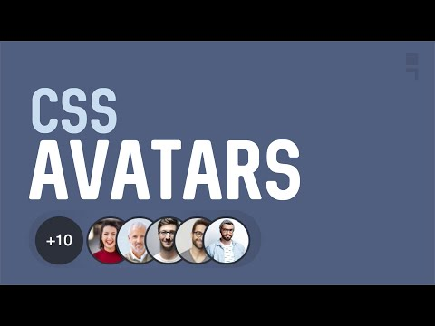 CSS User Avatar Grouping/Drawer/Card - How to create user avatar card with CSS