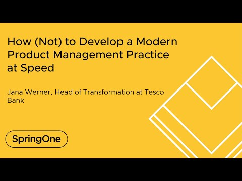 How (Not) to Develop a Modern Product Management Practice at Speed
