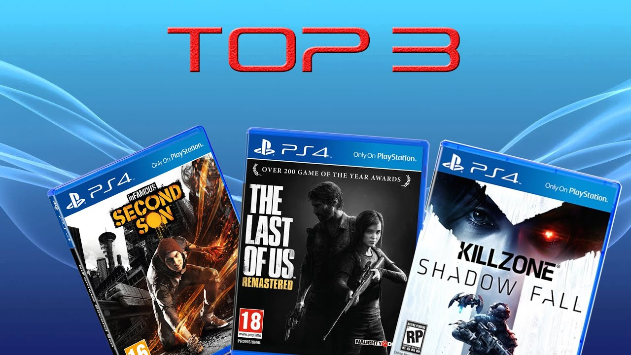 My TOP 3 Playstation 4 Exclusive Games - YouTube