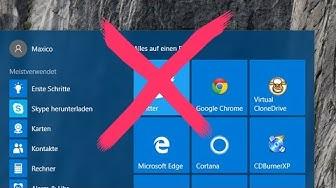Windows 10 Programme löschen bzw. deinstallieren - Tutorial Deutsch