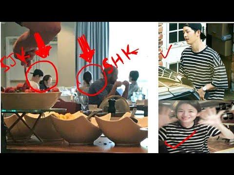 170913 Song JoongKi & Song HyeKyo having Special breakfast at London West Hollywood Los Angeles