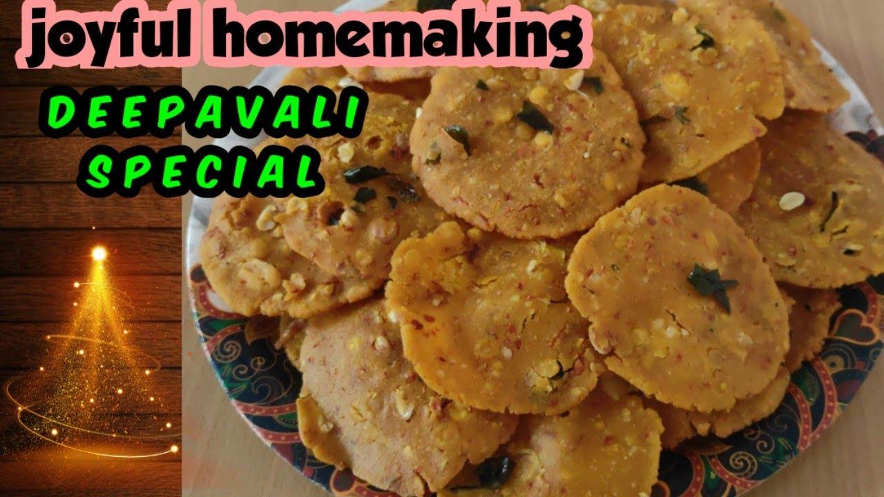 Download Thattai recipe  how to make thattai   Nippet  yelladai   snacks recipes   thattai   Deepavalikara