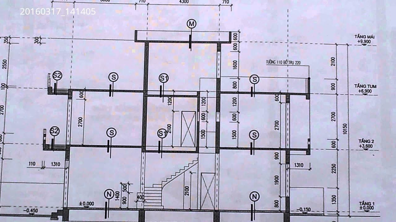 20160317_141405 dtv  – nhà ống đẹp 5m x 15m – mặt cắt dọc của ngôi nhà
