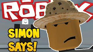 Roblox | SIMON SAYS! | THE BIGGEST FAIL EVER!