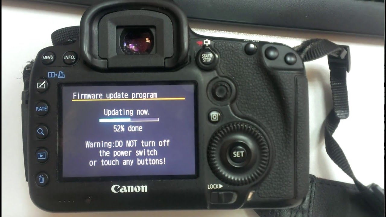 Canon 5d mark iv firmware update | fixes & corrections.