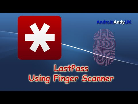 unlock lastpass with fingerprint