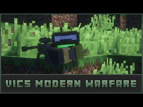 Minecraft: Tango Spotted! Vic's Modern Warfare 1.12.2 Mod Showcase