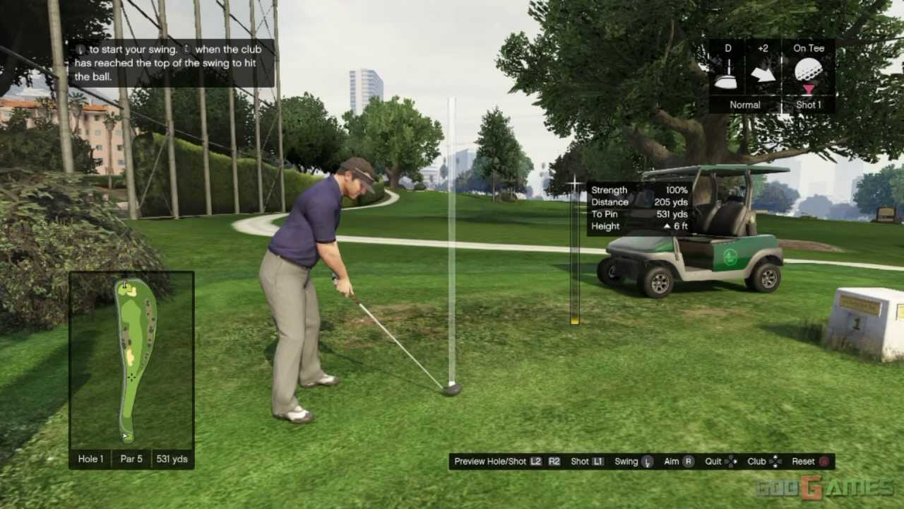 02131aa39ea052 GTA V PS3 Gameplay   Walkthrough   Playthrough   1080P Part 16 - Let s Play  Golf
