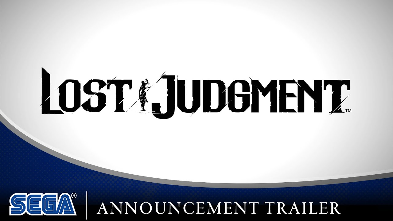 Lost Judgment   Announcement Trailer