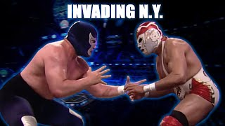 INVADING NY desde el MADISON SQUARE GARDEN | Lucha Libre AAA Worldwide