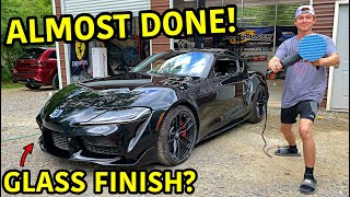 Rebuilding A Wrecked 2020 Toyota Supra Part 7