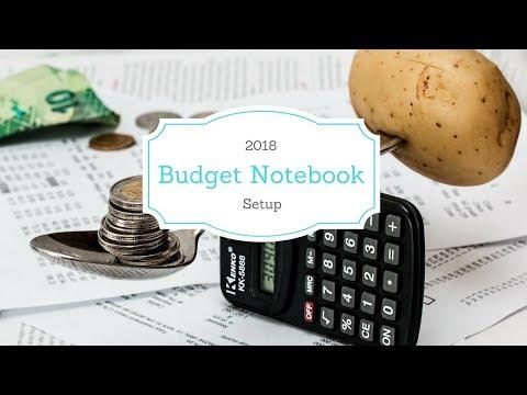 2018 Budget Setup