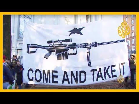 مظاهرة بولاية فرجينيا رافضة لتشريعات تقييد حيازة الأسلحة النارية  - نشر قبل 2 ساعة